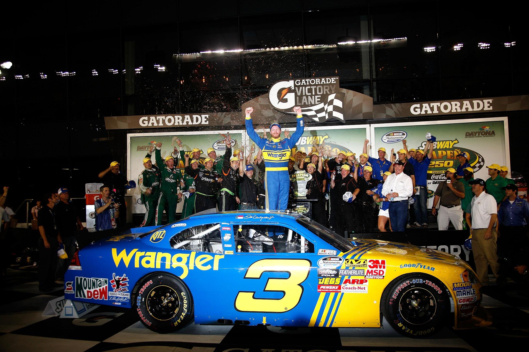 NNS: One Tough Customer, Dale Jr. Defeats Pressure In Daytona ...