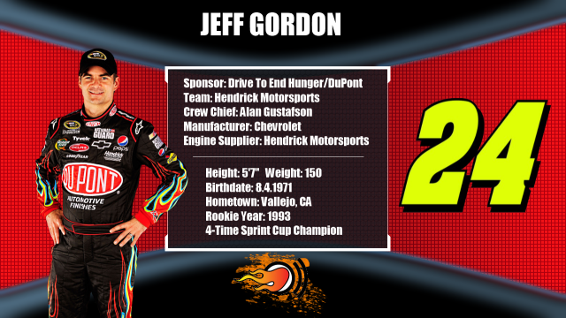 jeff gordon 2011 sponsor. That#39;s how long Jeff Gordon#39;s