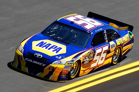 Nascar Fantasy Auto Racing on Truex Jr   Driver Of The  56 Napa Toyota  Practices For The Nascar