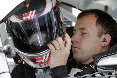 ryan newman 2011. Ryan Newman puts on his helmet