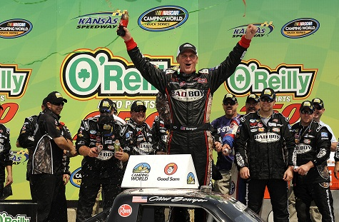 Nascar Fantasy Auto Racing on Clint Bowyer Wins The Nascar Camping World Truck Series O Reilly Auto