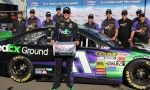 Your Pole-Sitter for the 2014 Pocono 400, Denny Hamlin. Photo Credit: Mark Dottle / Rubbings Racing.
