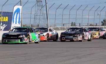 SEPT 22 2012 - NASCAR CTS race at Kawartha Speedway - Race and Post