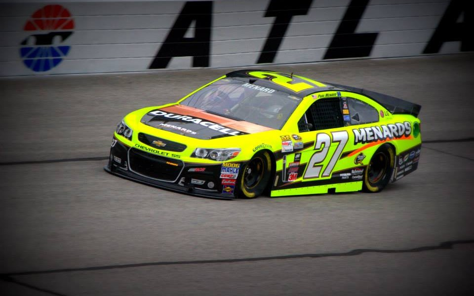 Paul Menard by Jan Foster