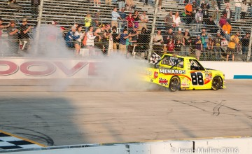 Photo taken during the NCWTS JACOB Companies 200 race at Dover Internaitonal Speedway on Friday, May 13, 2016. ©Jacob Mullins/2016