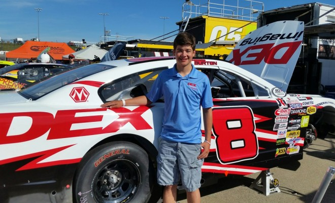 Arca Harrison Burton Has Fun And Finishes Third At Iowa