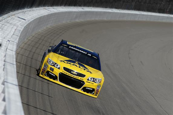 during practice for the NASCAR Sprint Cup Series Pure Michigan 400 at Michigan International Speedway on August 26, 2016 in Brooklyn, Michigan.