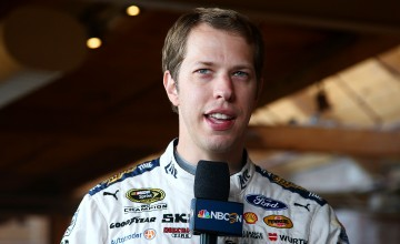 CHICAGO, IL - SEPTEMBER 15: NASCAR driver, Brad Keselowski answers questions during NASCAR's Ready. Set. Chase. Launch Event at The Bridgeport Art CenterÕs Skyline Loft on September 15, 2016 in Chicago, Illinois.  (Photo by Sarah Crabill/NASCAR via Getty Images)