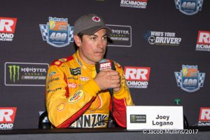 MENCS: Joey Logano's Runner-Up Finish at Richmond Ends Playoff Hopes