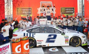 MENCS: Brad Keselowski Secures Round of 8 Spot With Win at Talladega