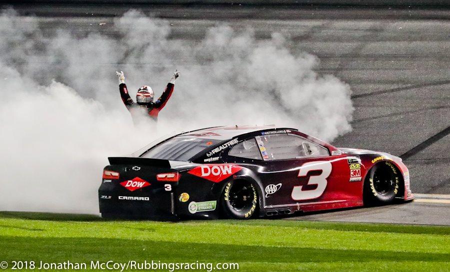 MENCS: Austin Dillon Wins Daytona 500, Returns No. 3 to Daytona Victory Lane