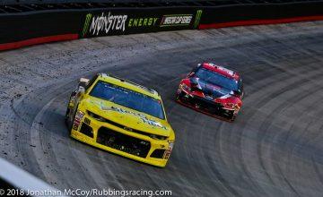 MENCS: Landon Cassill, StarCom Racing Earn Top-25 in Thunder Valley